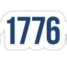 1776 Stars Sticker