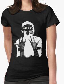 Fatty Boom Boom - Dark Zef $ide Shirts Womens Fitted T-Shirt