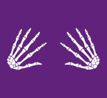 boob grabber skull hands by Cheesybee