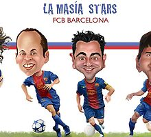 FC Barcelona Stars by carloscastro