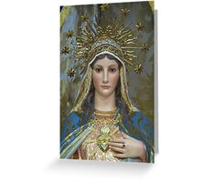 The Immaculate Heart of Mary Greeting Card