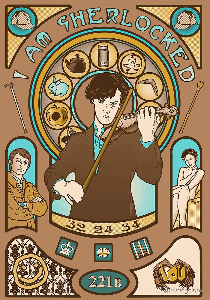 I Am Sherlocked by Creativecyclone
