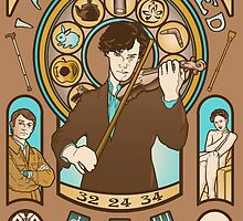 I Am Sherlocked by Creativecyclone