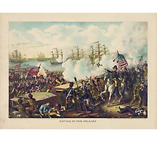 War of 1812 Battle of New Orleans January 8 1815 by Kurz & Allison Photographic Print