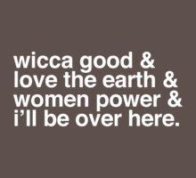 Wicca good - Buffy singalong shirt One Piece - Short Sleeve
