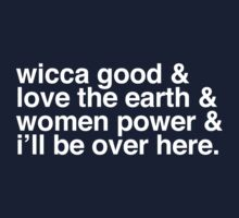 Wicca good - Buffy singalong shirt Kids Clothes