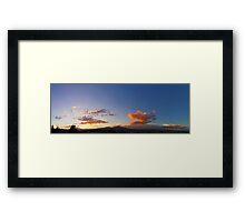 ©HCS The Dreamy Sunset Framed Print