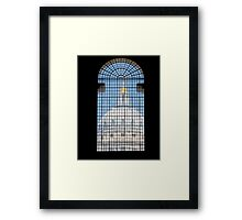 Window Dome Framed Print