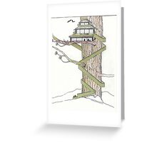 The Tree House Greeting Card