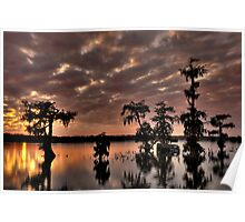 Lake Martin Sunset HDR Poster