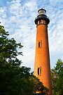 Currituck Beach Lighthouse in Carolla, NC by Kenneth Keifer
