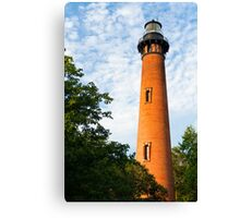 Currituck Beach Lighthouse in Carolla, NC Canvas Print