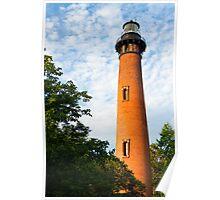 Currituck Beach Lighthouse in Carolla, NC Poster