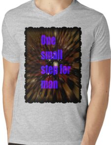 one small step for man Mens V-Neck T-Shirt