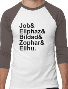 Team Job - Black text Men's Baseball ¾ T-Shirt