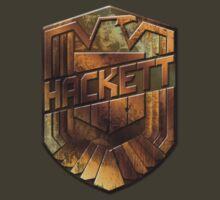 Custom Dredd Badge Shirt - Pocket - (Hackett) by CallsignShirts