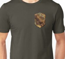 Custom Dredd Badge Shirt - Pocket - (Hackett) Unisex T-Shirt