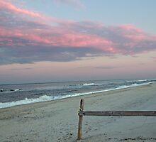 Sunset at the beach by kutekatgurl