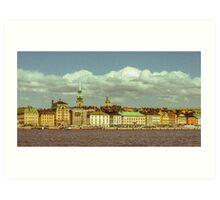 Old Town Stockholm (Gamla Stan) Art Print