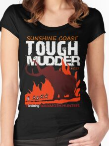 TOUGH MUDDER T-SHIRT 2013 SUNSHINE COAST Women's Fitted Scoop T-Shirt