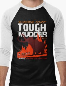 TOUGH MUDDER T-SHIRT 2013 SUNSHINE COAST Men's Baseball ¾ T-Shirt