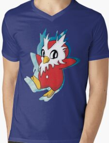 DeliBird Mens V-Neck T-Shirt