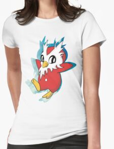 DeliBird Womens Fitted T-Shirt