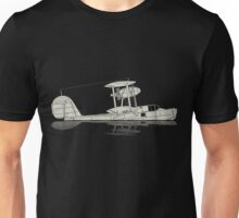 Supermarine Walrus on a Lake Unisex T-Shirt