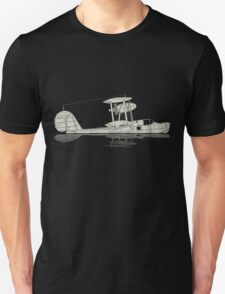 Supermarine Walrus on a Lake T-Shirt