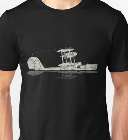 Supermarine Walrus on a Lake Unisex T-Shirt