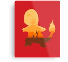 Red companion Metal Print