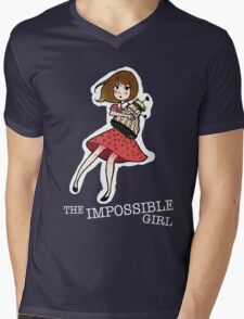 the impossible girl Mens V-Neck T-Shirt