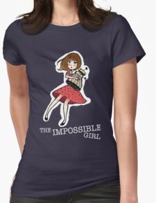 the impossible girl Womens Fitted T-Shirt