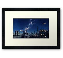 Evening Light - Galaxies Edge Framed Print