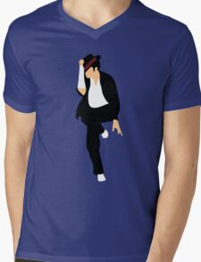 MJ Mens V-Neck T-Shirt