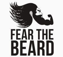 Fear the Beard by Ameeraalqaed