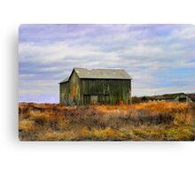 """ A barn do ment "" Canvas Print"