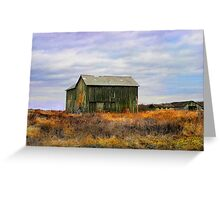 """ A barn do ment "" Greeting Card"