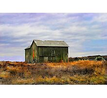 """ A barn do ment "" Photographic Print"