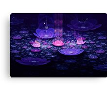 Jeweled Lotus Garden Canvas Print