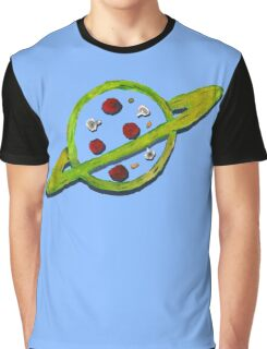 Pizza Planet Alien logo Graphic T-Shirt