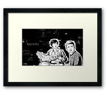 Mycroft! Framed Print