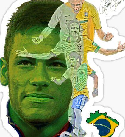 Neymar strikes again Sticker