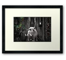 No Guts...No Glory.... Framed Print