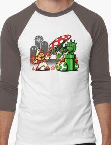 Game Over Man, GAME OVER! Men's Baseball ¾ T-Shirt