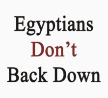 Egyptians Don't Back Down  by supernova23
