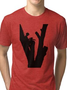 Tree Cutter Tri-blend T-Shirt