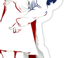 Kissing Sailor Sticker