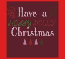 Holly Jolly Kids Tee