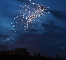 Bombs Bursting in Air by Carol Bailey White